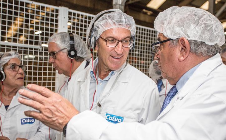 Calvo Excellence System en la planta de Carballo