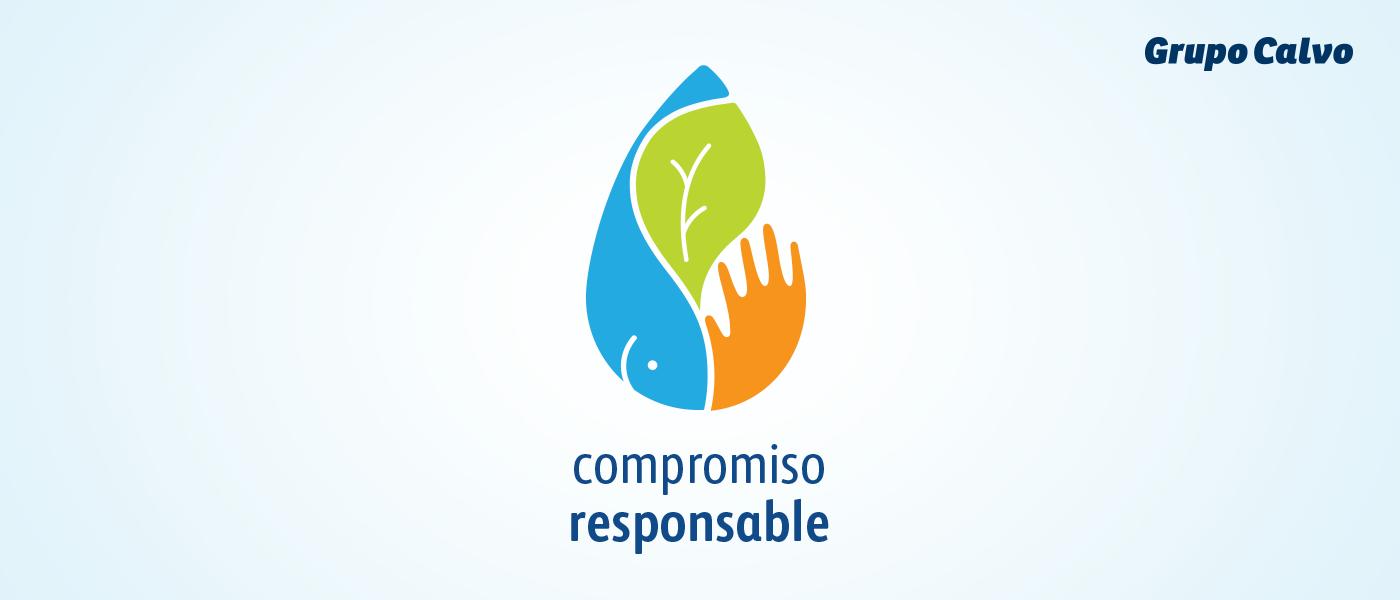 Logotipo Compromiso responsable grupo calvo