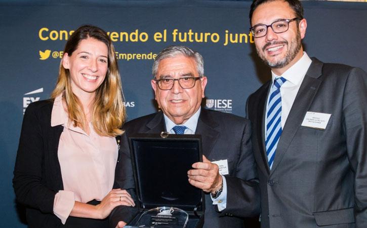 José Luis Calvo, finalista del Premio Emprendedor del Año 2016 de EY