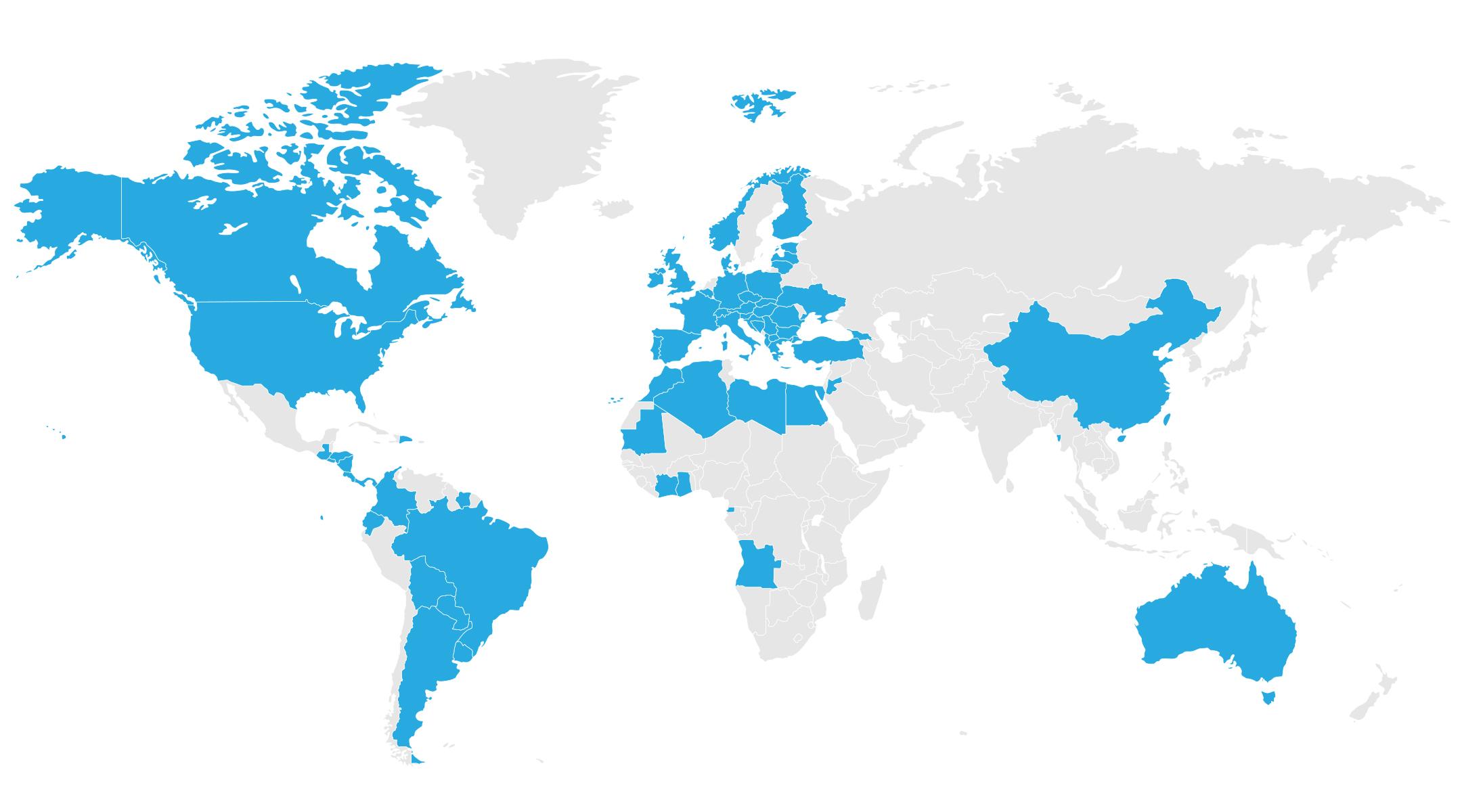mapa localización Grupo Calvo