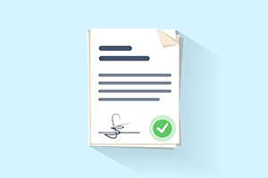 Good Fishing Practices Contract Icon