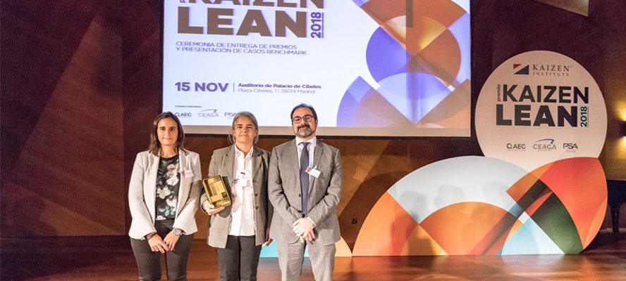 Premio Kaizen Institute a la Excelencia en Estrategias de Crecimiento para Grupo Calvo
