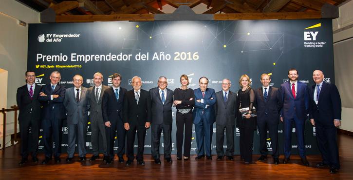 Grupo Calvo, Premio a la Trayectoria de la Empresa Familiar 2016 de EY